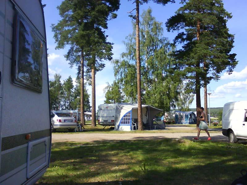 camping midden zweden